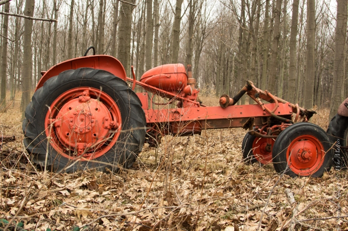 Tractor-wrecked