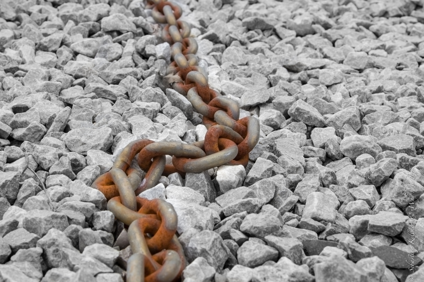 Rust on a endless chain
