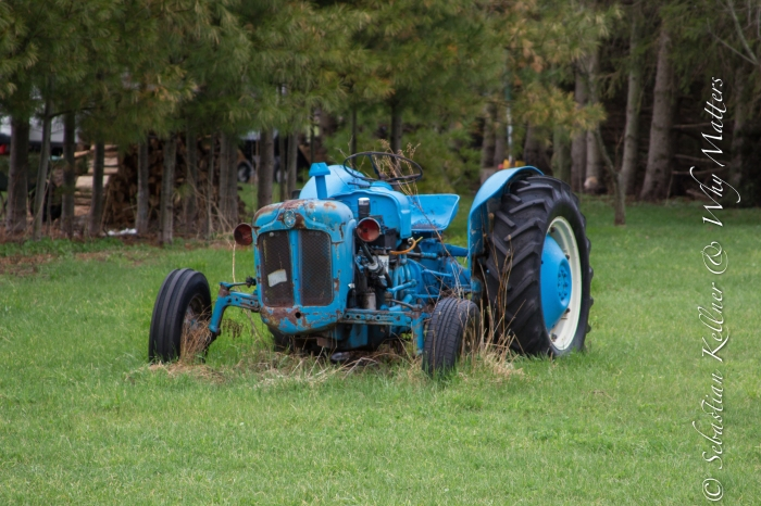 Blue like a Tractor