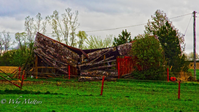 Artsy Red Barn